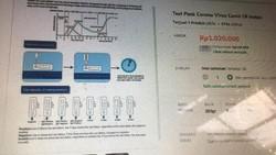 Tes Corona Instan Dijual di Lapak Online, Dokter Sarankan Cek ke RS Saja