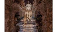 Sepotong Kisah Reruntuhan Kuil Myanmar yang Sempat Jaya di Masa Lalu