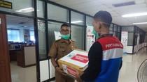 Cegah Corona, Pertamina Bagikan 15.000 Masker di Jakarta Utara