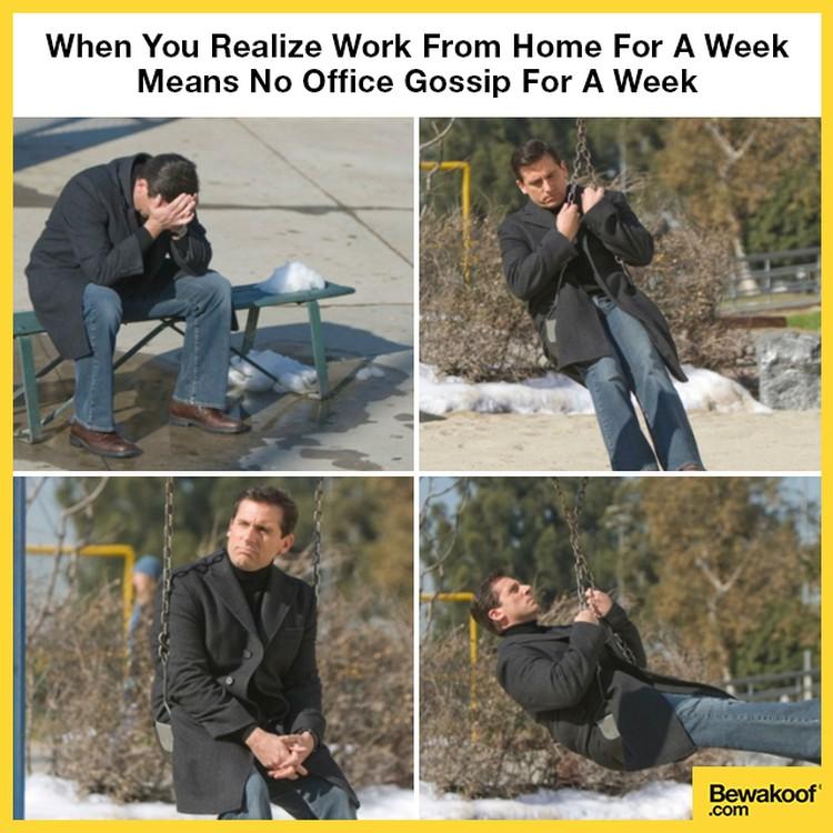 Kumpulan Meme Orang Orang Yang Work From Home