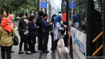 Antisipasi Lonjakan Penumpang Saat Ganjil Genap, Armada TransJ Ditambah