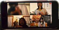 Jalani Masa Isolasi, Orang Jepang Minum Bareng Secara Online