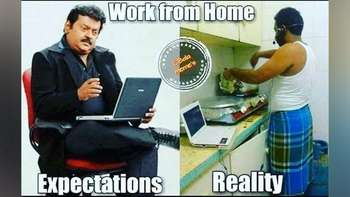 Kumpulan Meme Orang-orang yang Work From Home