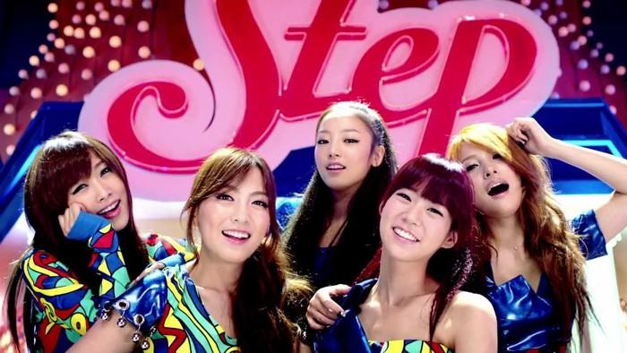 MV Step KARA raih 100 juta penonton (DSP Media)