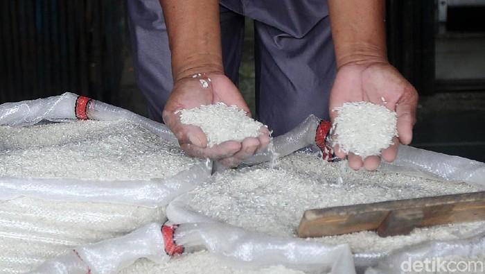 beras di pasar cipinang