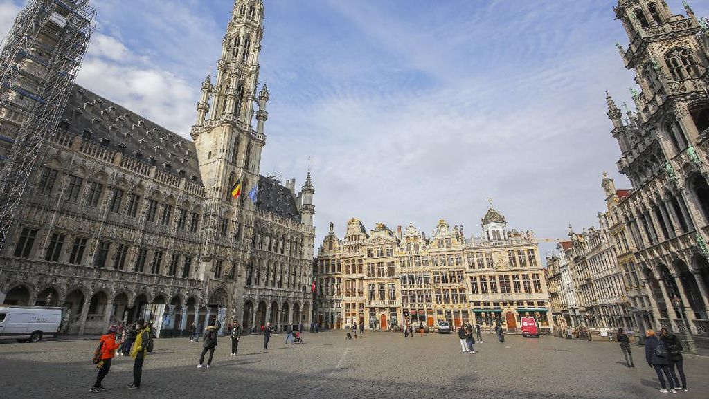 Belgia Perpanjang Masa Lockdown 2 Pekan hingga 18 April