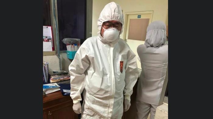 Viral cerita dokter Handoko melawan virus corona.