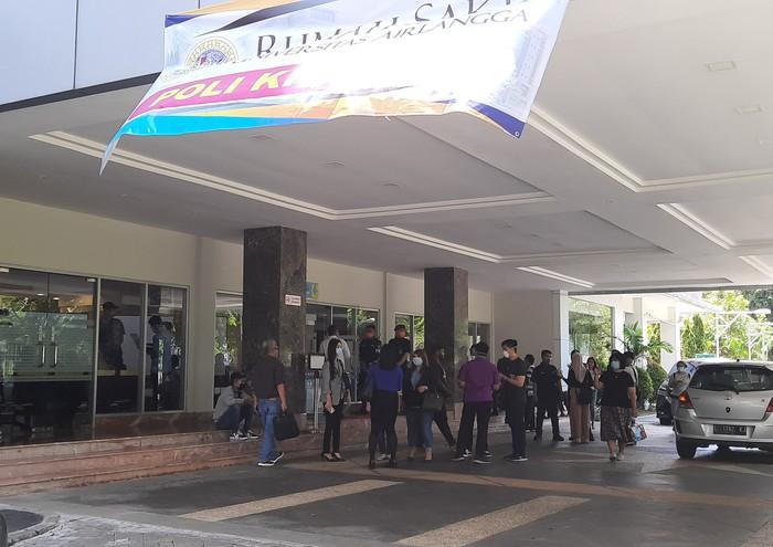 Gedung Rumah Sakit Khusus Infeksi (RSKI) RS Unair Surabaya