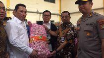 Cegah Bahan Pangan Langka, Bareskrim Tinjau Pasar Induk Beras Cipinang