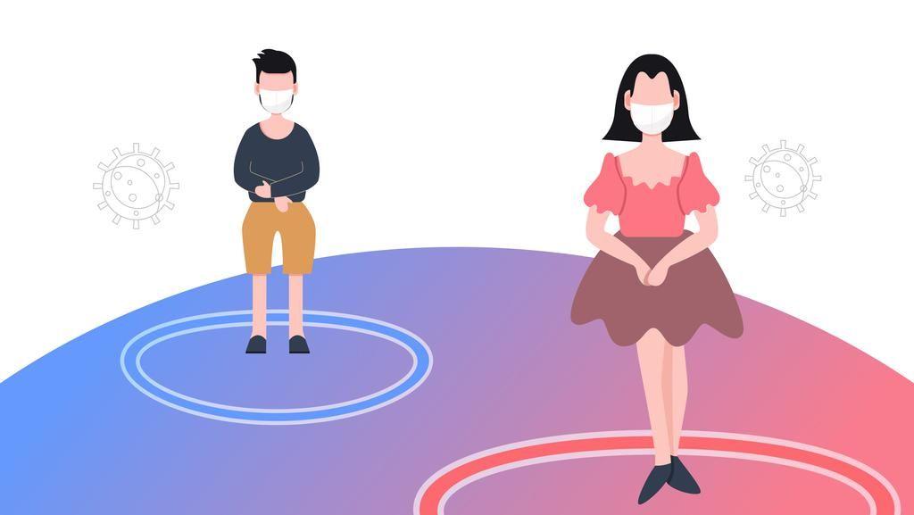 Jarak yang Aman dengan Orang Lain dan 15 Tips saat Social Distancing