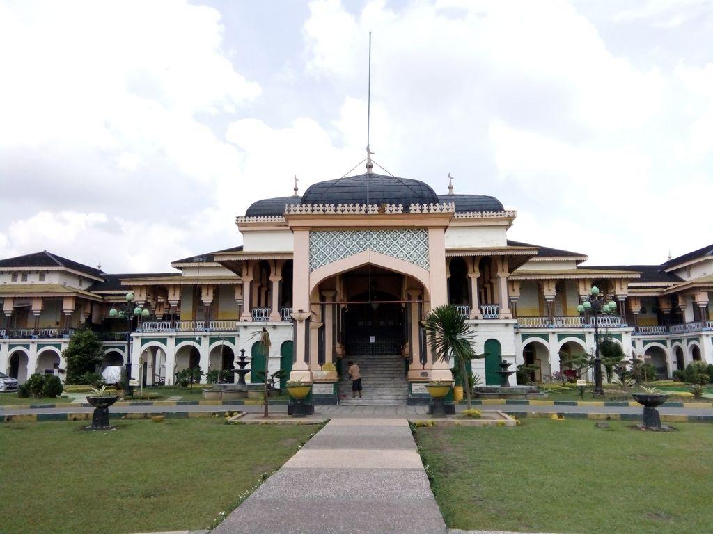 Istana Maimoon (Ahmad Arfah/detikcom)
