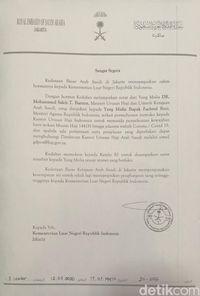 Saudi Kirim Surat ke Indonesia, Minta Bersabar Terkait Haji 2020