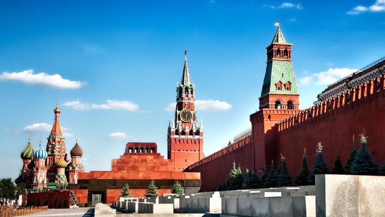 Makam Lenin di Red Square