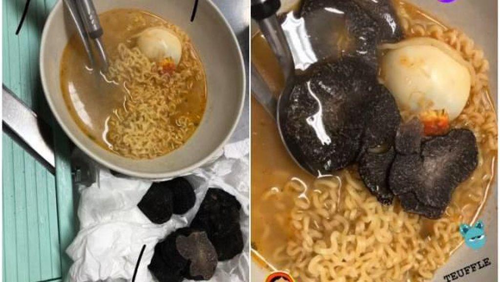 Pakai Lobster dan Jamur Truffle, 5 Mie Instan dengan Topping Mewah