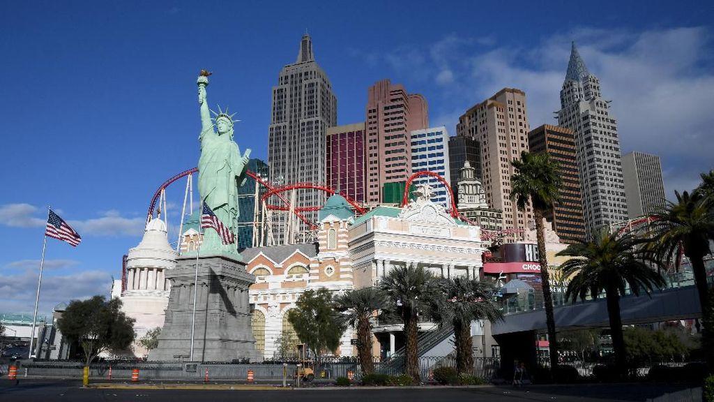 Las Vegas Sambut Para Penjudi Lagi, Kasino Dibuka 4 Juni