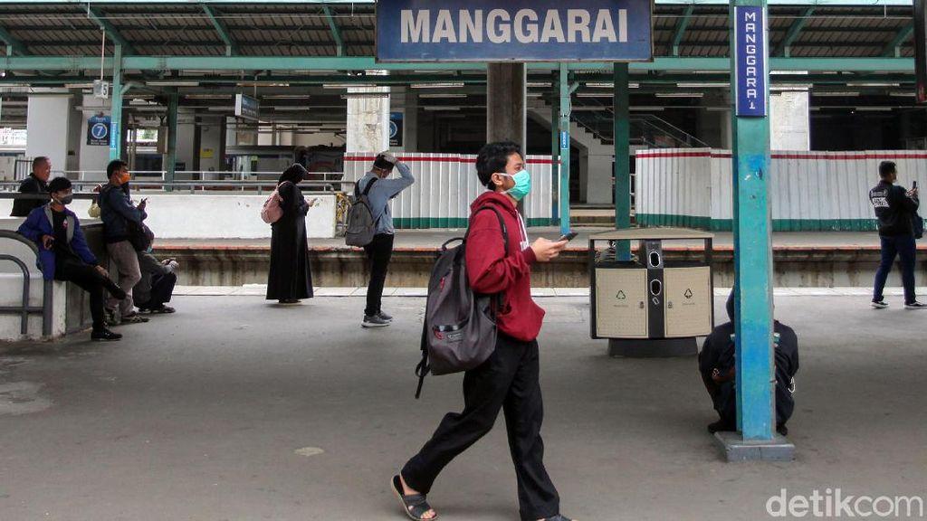 Kondisi Terkini Stasiun Manggarai yang Rencananya Gantikan Gambir