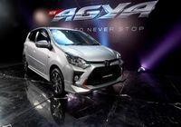 Toyota Agya terbaru.