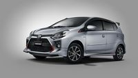 Toyota Agya.