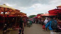 Tinjau Pasar Kranggot, Walkot Cilegon Pastikan Stok Pangan Aman