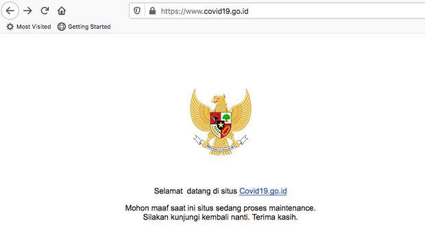 Selengkap Apa Situs COVID-19 Versi Pemerintah?