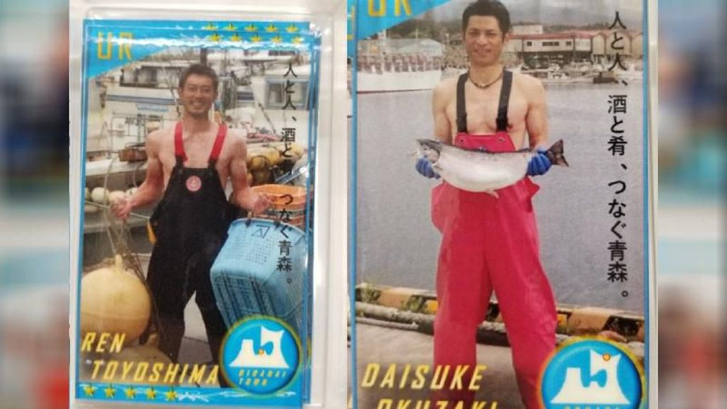 Agar Dagangan Laku, Nelayan di Jepang Alih Profesi Jadi Model Seksi