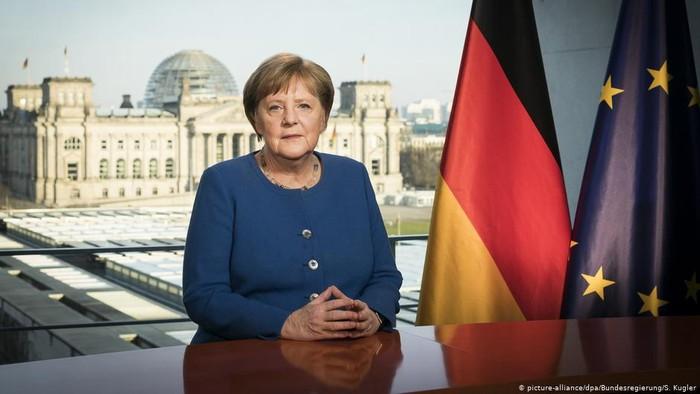 Angela Merkel Akui Corona Sebagai Tantangan Terbesar Setelah PD II