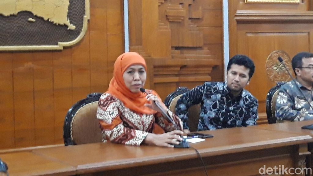 Gubernur Khofifah: Kabar Bahagia, Pasien Corona Usia 76 Tahun Sembuh