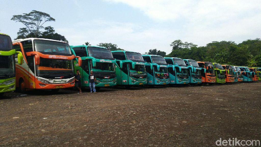 Kandangkan Armada Pariwisata Efek Corona, PO Bus Ciamis Merugi