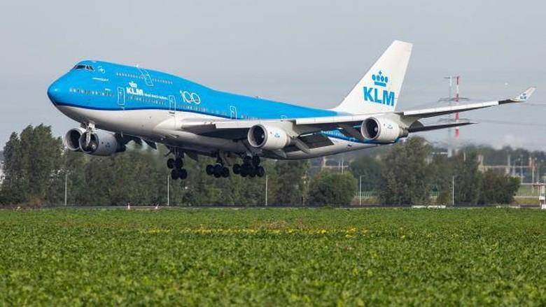 Pesawat B747 KLM