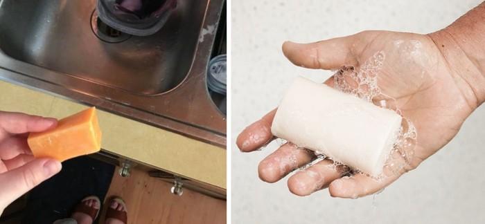 Cuci Tangan Pakai Keju