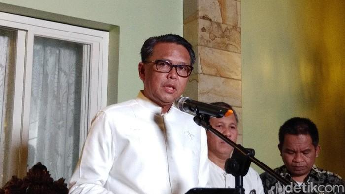 Gubernur Sulawesi Selatan (Sulsel) Nurdin Abdullah (Hermawan Mappiwali/detikcom)