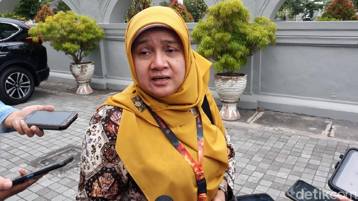 Kepala Dinas Kesehatan DIY, Pembajun Setyaningastutie, Kamis (19/3/2020).