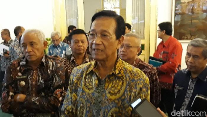 Gubernur DIY Sri Sultan Hamengku Buwono (HB) X, Kamis (19/3/2020).