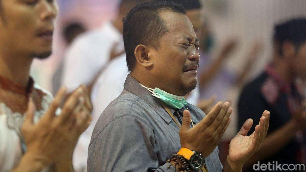 Corona Mewabah, Jamaah Istiqlal Panjatkan Qunut Nazilah
