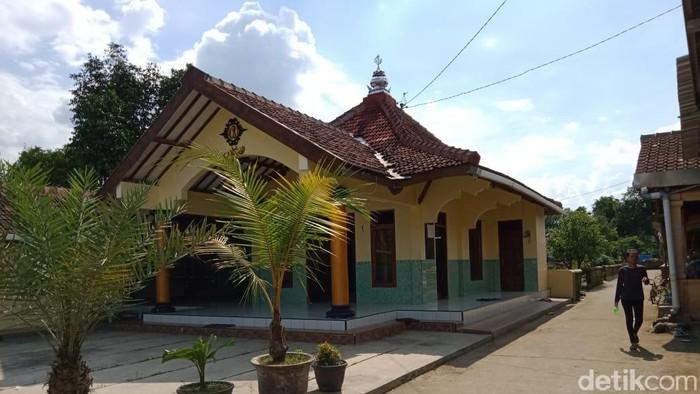 Masjid Al Ikhlas, Klaten tempat meninggalnya ustaz Agus usai salat Jumat (20/3/2020).