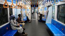 Penumpang Turun 90% Gegara Corona, MRT Kembali Ubah Jadwal Keberangkatan