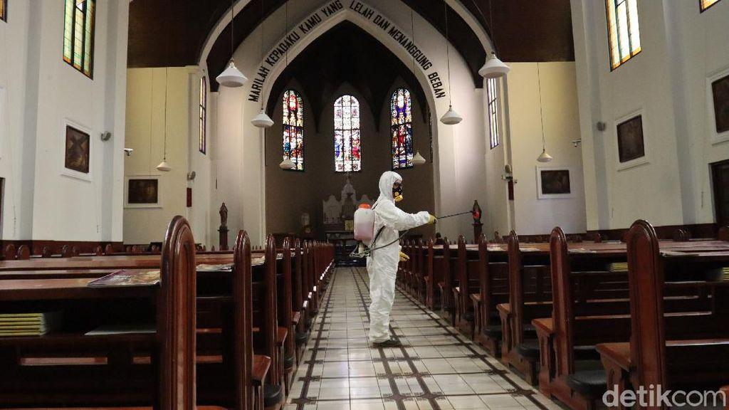 Gereja di Solo Tutup Sementara Imbas Corona, Ibadah Dilakukan Online