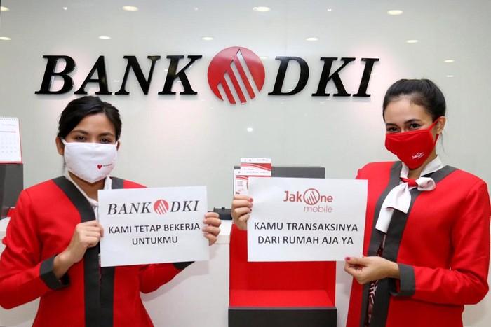 Bank DKI juga menyikapi dan mengikuti anjuran pemerintah untuk menerapkan kebijakan Work From Home (WFH) untuk sebagian divisinya.