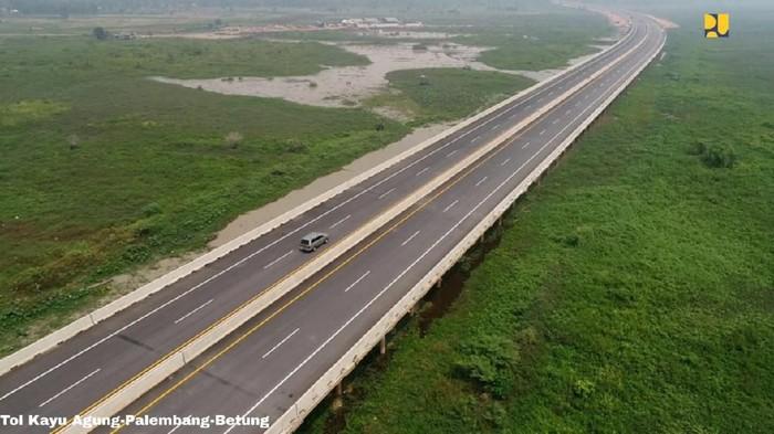 Penampakan ruas tol siap beroperasi pada 2020
