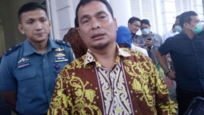 Kadis Kesehatan Sumut Alwi Mujahit Hasibuan  (Foto: Ahmad Arfah/detikcom)