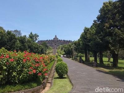 Candi Borobudur Akan Dibuka, Wisatawan Harus Cek Suhu