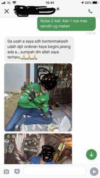 Salut! Netizen Ajak Belikan Makanan untuk Driver Ojol yang Sepi Order