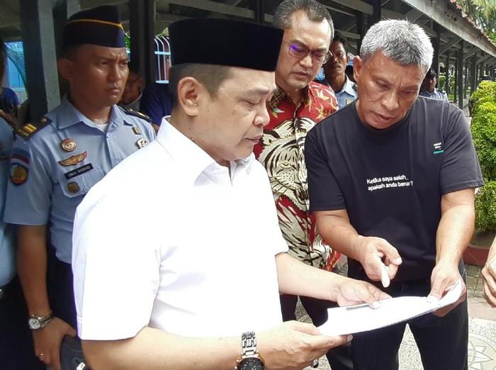 Anggota Komisi III DPR RI Supriansa (MN Abdurrahman/detikcom)