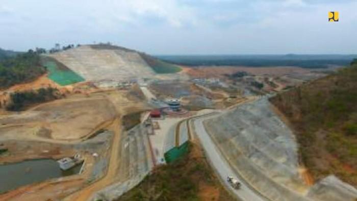 Proyek Bendungan Way Sekampung di Lampung