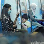 Terapkan Social Distancing, Penumpang MRT Jakarta Turun 80%