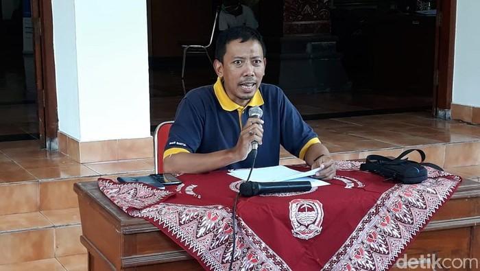 Juru Bicara Gugus Tugas Percepatan Penanganan Penularan Infeksi COVID-19 Bantul, Tri Wahyu Joko Santosa