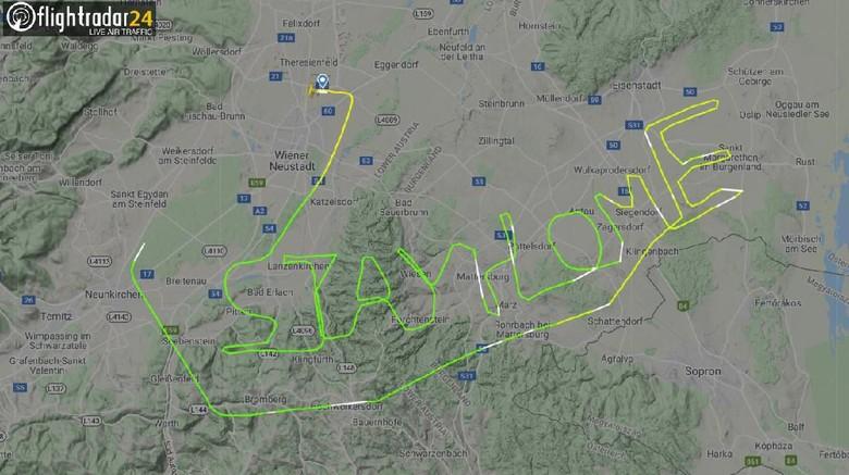 Pesan Corona dari Pilot