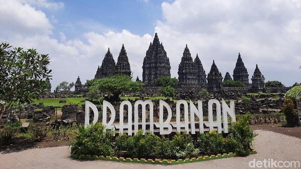 Kedua, Candi Prambanan yang merupakan candi Hindu di Klaten, Jawa Tengah. (Jauh Hari./detikcom)