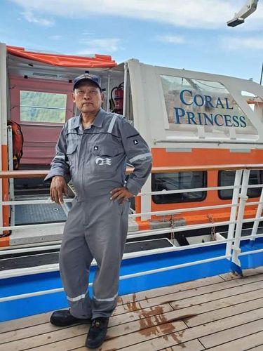 Kapal Pesiar Coral Princess Ditolak Sandar di Argentina, Ada 60 WNI Jadi ABK