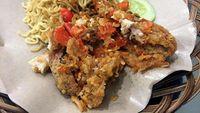 Ayam Geprek Pedas
